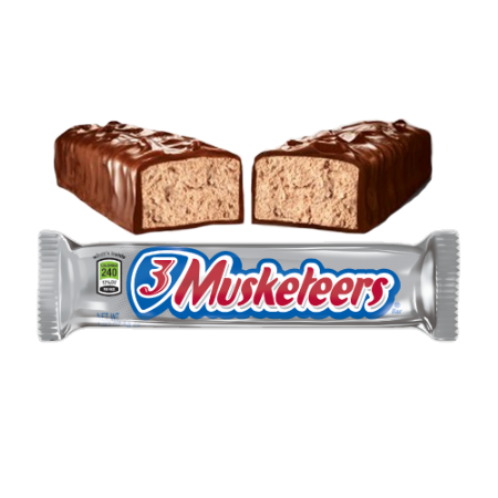 3 Musketeers Bar 54.4g (US)